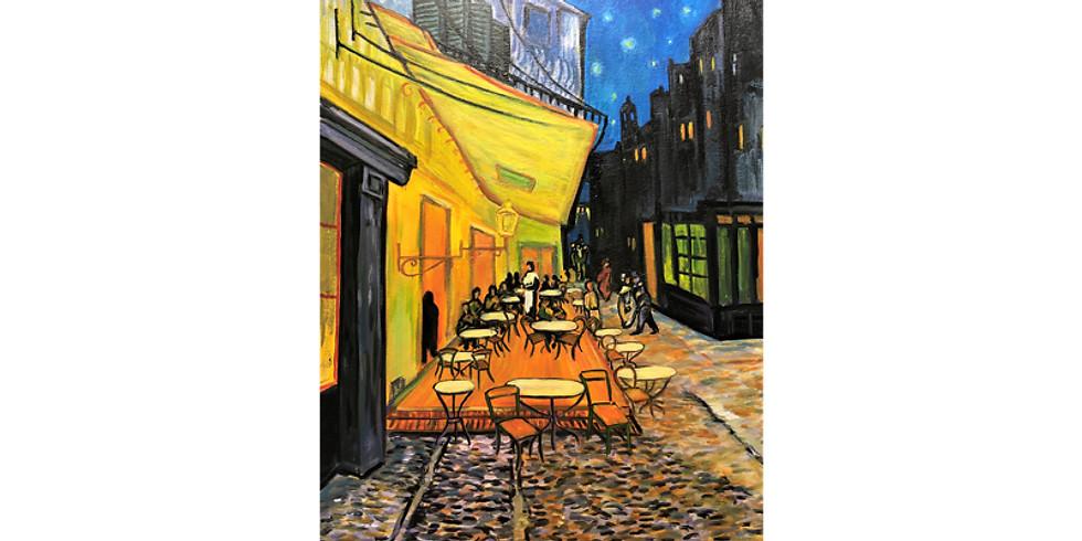 Paint it like Van Gogh Café Terrace at Night
