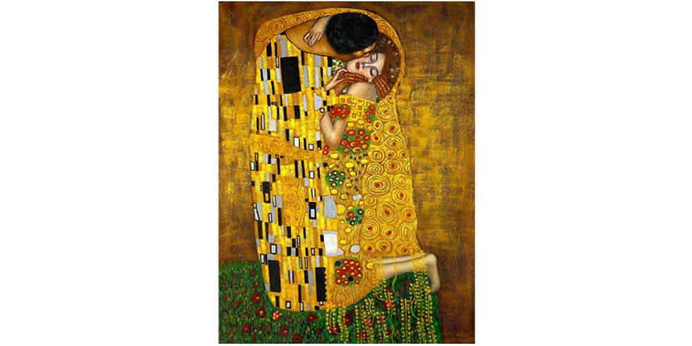 Paint it like Klimt - The Kiss - LIVE AT VENUE