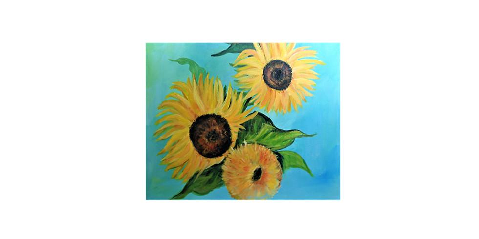 Art & THRIVE - Classic Sunflowers