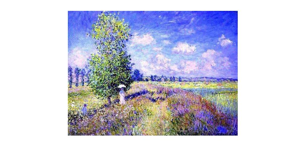 Paint it like Monet - Lavender