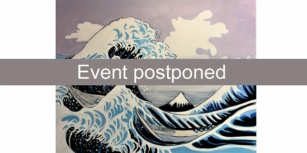 Hokusai – The Great Wave in paint