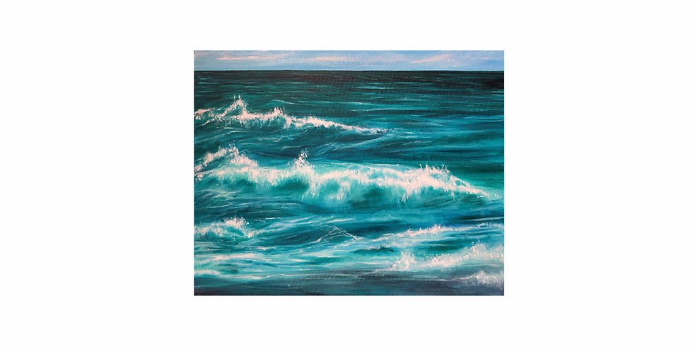 17th AUGUST - Painting Waves
