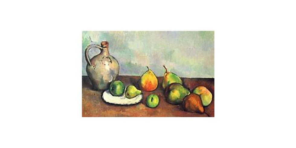 Paul Cezanne - still life - looking at classics