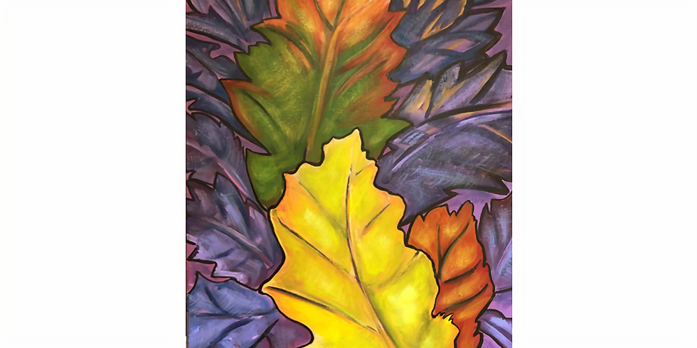 Autumn Leaves inspired by Georgia O'Keeffe