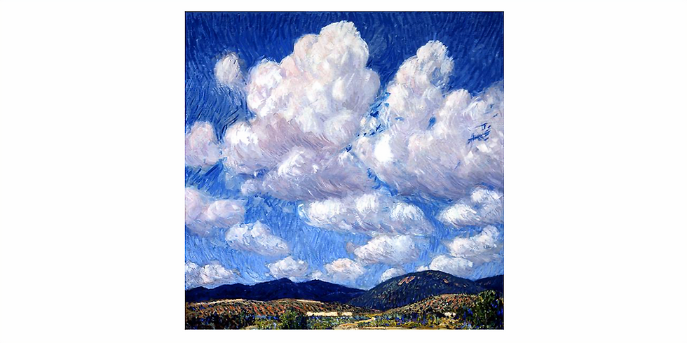 31st August - Painting Clouds like Sheldon Parsons