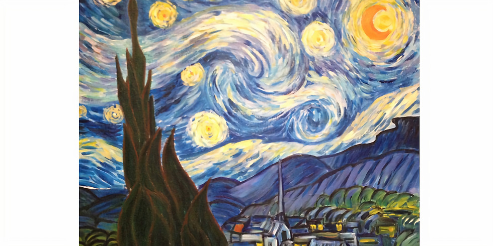 Paint it like The Starry Night