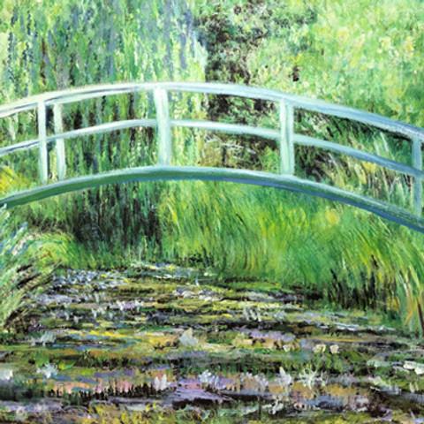 Paint it like Monet - Water Lilies and Japanese Bridge