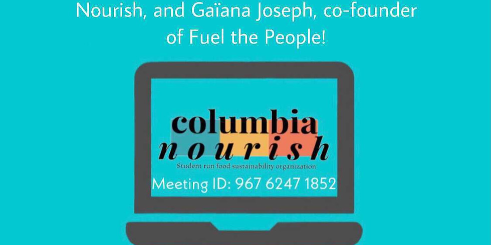 Social Justice and Food Sustainability Webinar!