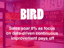 Yumpingo helps BIRD drive like-for-like sales growth