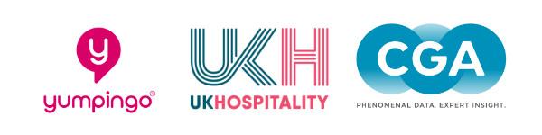 Yumpingo UKHospitality and CGA Logos