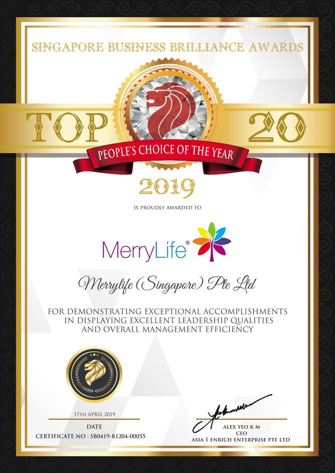 MerryLife TOP 20