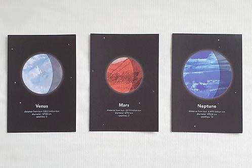 Planet prints