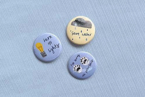 Polar Bear badges