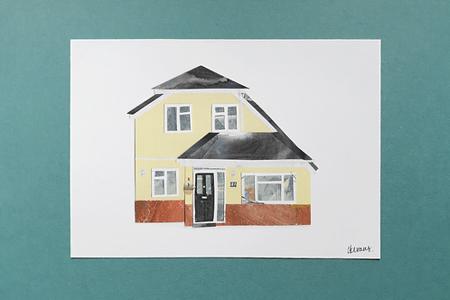 Custom House Portrait A5