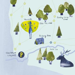 Bradgate Park Map