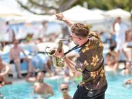 Sax at Nikki Beach Ibiza