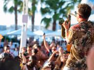 Sax at O Beach Ibiza