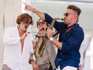 Sax at Nikki Beach Ibiza Anniversary