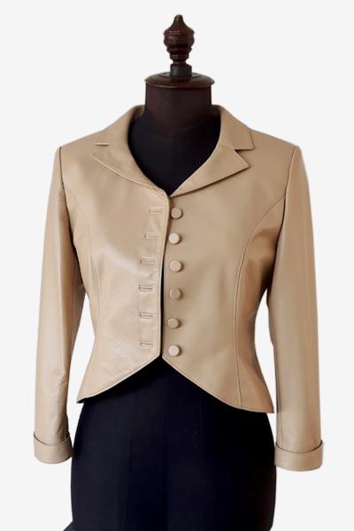Bespoke Lambskin Leather Jacket