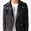 Thumbnail: Black Double Rider Biker Leather Jacket