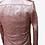 Thumbnail: Pink Biker Washed Leather Jacket