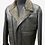 Thumbnail: Brown Aviator Leather Jacket with Borg Collar
