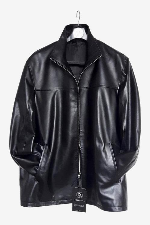 Bepsoke Black Lambskin Leather Jacket