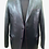 Thumbnail: Black Leather Blazer with Hand Stitched Front