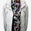 Thumbnail: White Leather Field Jacket