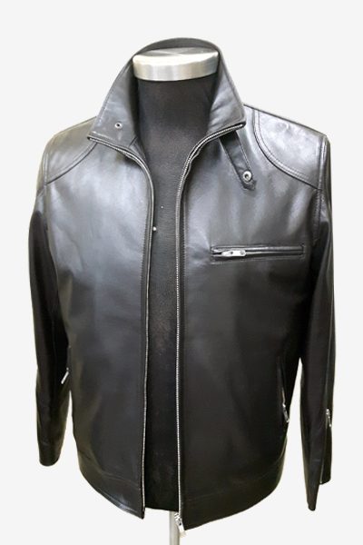 Black Racer Leather Jacket