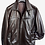 Thumbnail: Brown Lambskin Leather Racer Jacket