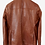 Thumbnail: Brown Fancy Leather Blazer