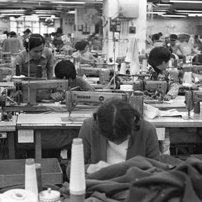香港製衣業和皮革的歷史