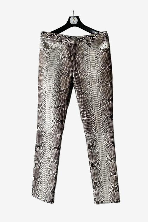 Bespoke Python Leather Pants