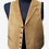 Thumbnail: Brown Suede Leather Vest