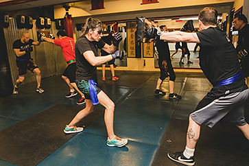 Tsun Jo class at Greenlake Martial Arts School