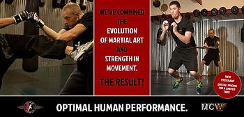 Evolution of martial art and strength in movement.