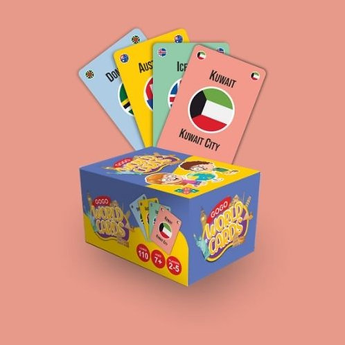 GOGO - WORLD CARDS (Gift - Pack of Four)