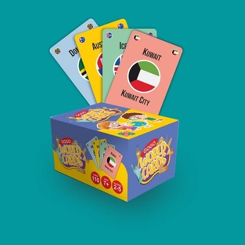 GOGO - WORLD CARDS (Pack of One)