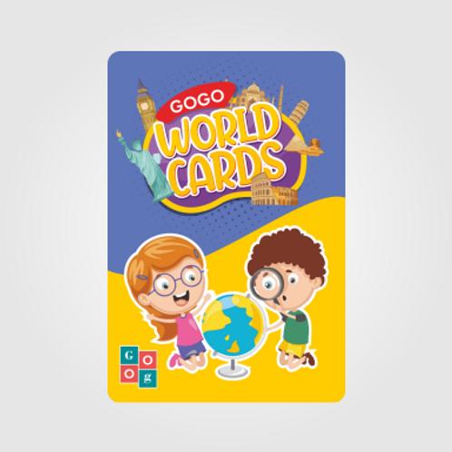 GOGO - WORLD CARDS (GIFT PACK - 4)