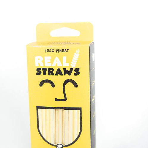 Wheat Drinking Straws (4 x 100 Pack)