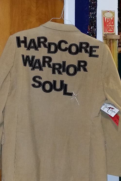 Warrior Soul Tan Blazer