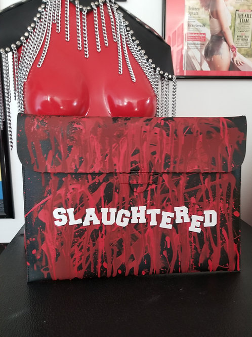 Slaughtered Clutch Purse