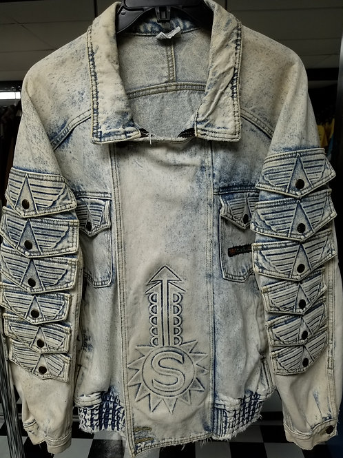 SLICK Series! Stonewash Denim Jacket