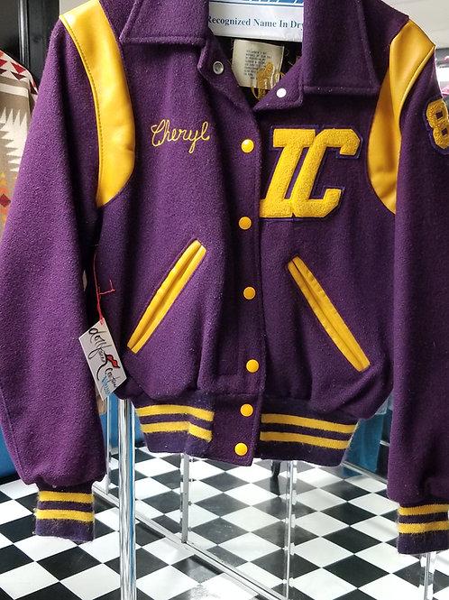 IC You! Purple n Gold(yellow) Bomber Jacket