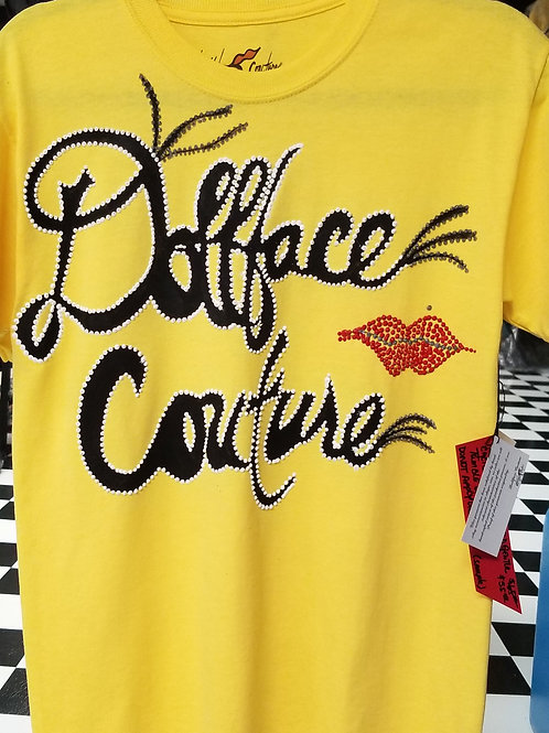 Dollface Couture Yellow T-shirt