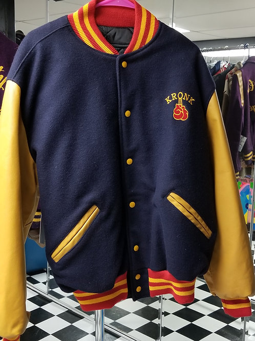 Get KRONK! Wool and Leather Jacket