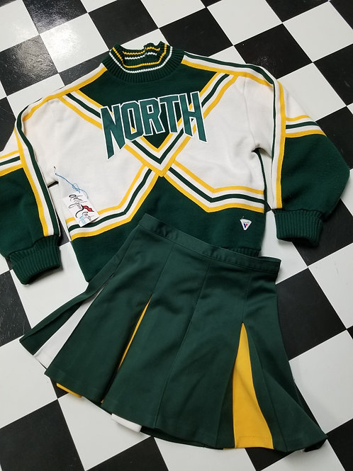 HooRaH! Varsity Sweater & Skirt