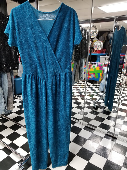 Romp for your Love! Turquoise Romper