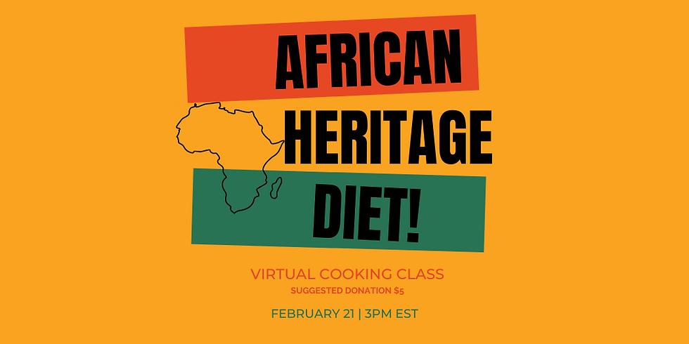 African Heritage Diet Cooking Class